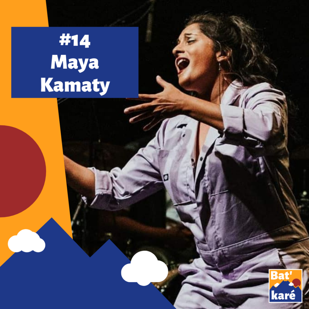 Maya Kamaty sur Bat' karé podcast