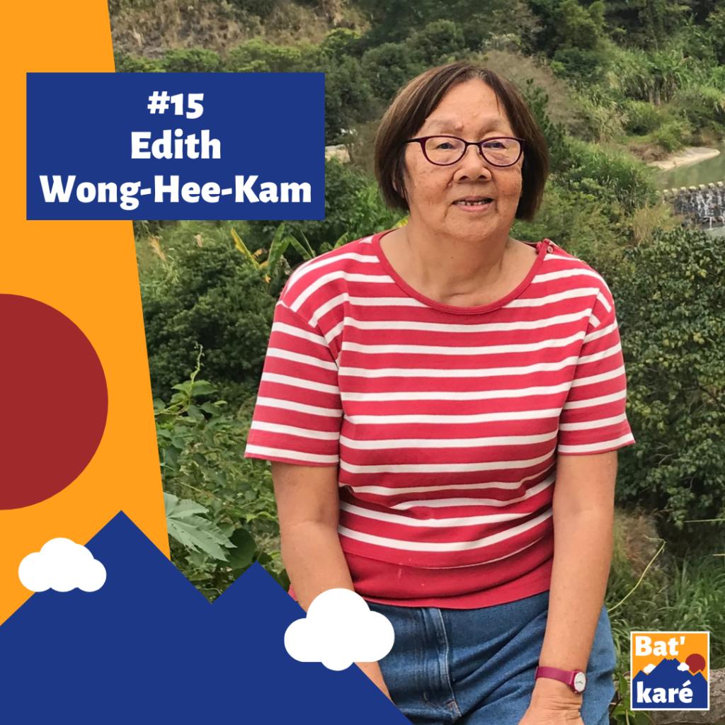 Edith Wong-Hee-Kam dans Bat' karé podcast